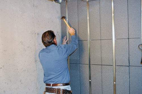 Insulated wall panels for the basement rigid foam insulation for refinishing a basement - Polystyrene insulation step by step ...