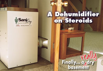 Energy-Efficient Dehumidifier