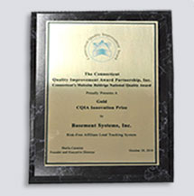 Quality and Innovation Award from CT Quality Innovation Partnership
