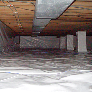 CleanSpace® installed in crawl space