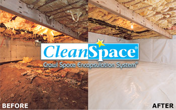 CleanSpace Before After