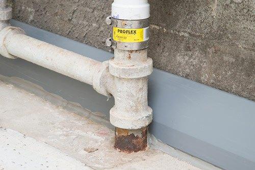 DryTrak® Basement Drainage System for Monolithic Foundations