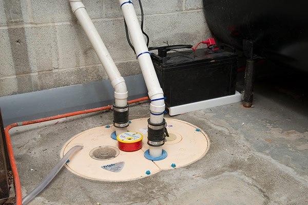 drytrak interior basement drainage system for monolithic foundations