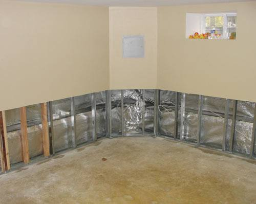 Basement Wall Repair For Wet Drywall In Flooded Basements