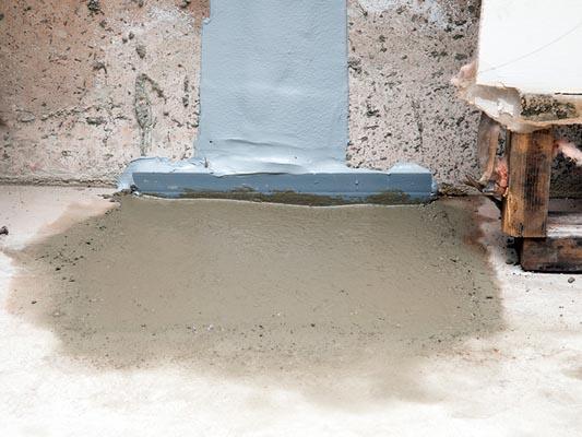 flexispan crack repair for leaking basement walls