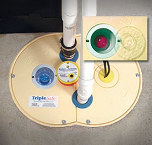 Sump Pump Floor Drain