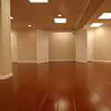 Finished Basement Flooring Installed