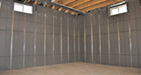 Basement Pre-finishing with Insulated Wall Panels