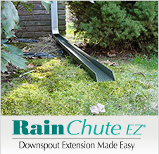 Basement Systems' easy-to-install downspout extension