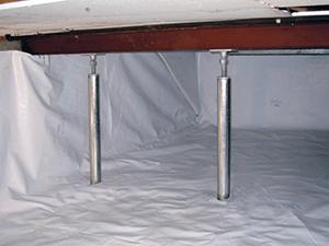 Smartjack Crawl Space Stabilizer Adjustable Floor Joist