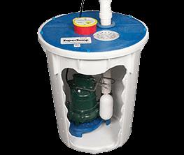 SuperSump® sump pump system