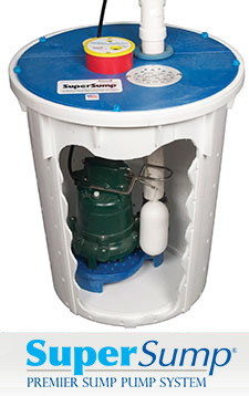SuperSump sump pump system