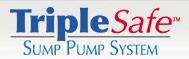 TripleSafe sump pump system