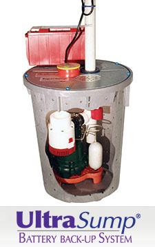 UltraSump sump pump system