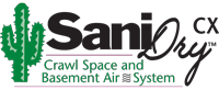 SaniDry™ CX Crawl Space and Basement Air System