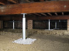 SmartJack® crawl space support system