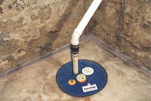 SuperSump  sump pump system