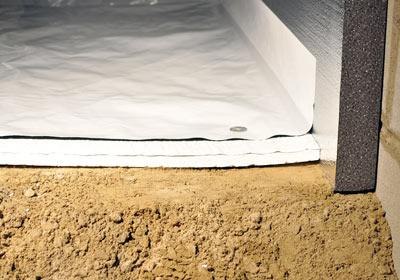 Foam Board Insulation And Vapor Barrier