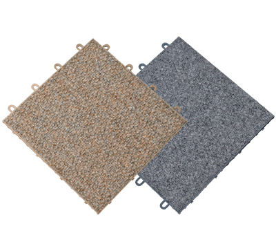 ThermalDry® Carpeted Basement Flooring
