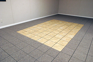 Mix and match different ThermalDry® Flooring panels