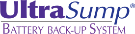UltraSump battery back-up sump pump system logo