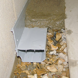 WaterGuard® Basement Waterproofing System