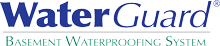 WaterGuard® Basement Waterproofing System Logo