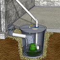 Patented basement drainage systems